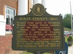 Wolfe County